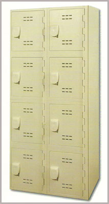 Tan Royal Plastic Lockers